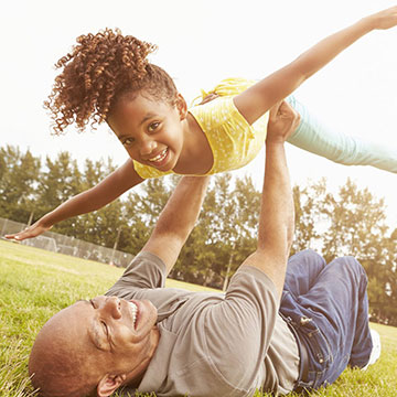 play with grandkids pain free after regenerative stem cell therapy
